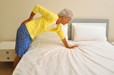 If you have back pain, buying a memory foam topper probably won't help you sleep better.