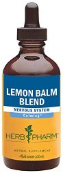 100% organic lemon balm extract: one of the excellent herbal remedies for insomnia.