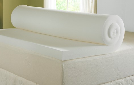 hereu0027s what a fantastic mattress foam topper looks like