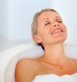 Want to know how to fall asleep fast? Take a warm bath!
