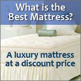 Luxury mattress at a discount price.