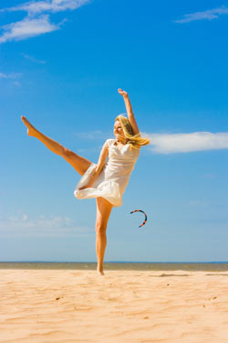 Dancing in the sun is an effective seasonal affective disorder treatment.