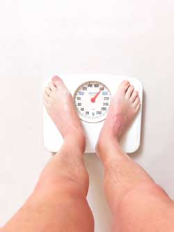 Your weight scale can show how sleep deprivation effects weight.