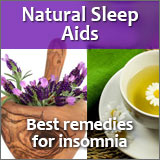 Try natural sleep aid remedies for a better nights sleep