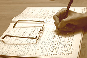 Capture your dreams by keeping a journal closeby.