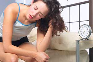 Maybe this woman wouldn't be so tired if she knew these facts about insomnia.