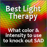 This article answers your questions about the best light therapy to use for overcoming SAD.