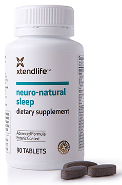 Neuro-Natural Sleep is full of passionflower, green tea extract, valerian, hops, chamomile, and 44 other health and sleep-enhancing nutrients.